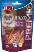 Допълваща храна за котки във формата на ленти с патица и риба - 42707