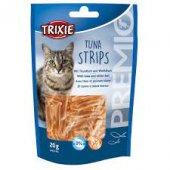 Допълваща храна за котки във формата на ленти с риба тон. - 42746