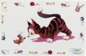 Подложка за купички за Коте  - 24544