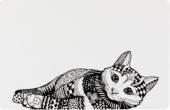 Подложка за купички за Коте  - 24788