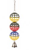 Решетъчни топки с звънче - 5251