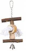 Дървена играчка за папагал - 58961 58962