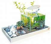 Поставка за аквариум бяла -