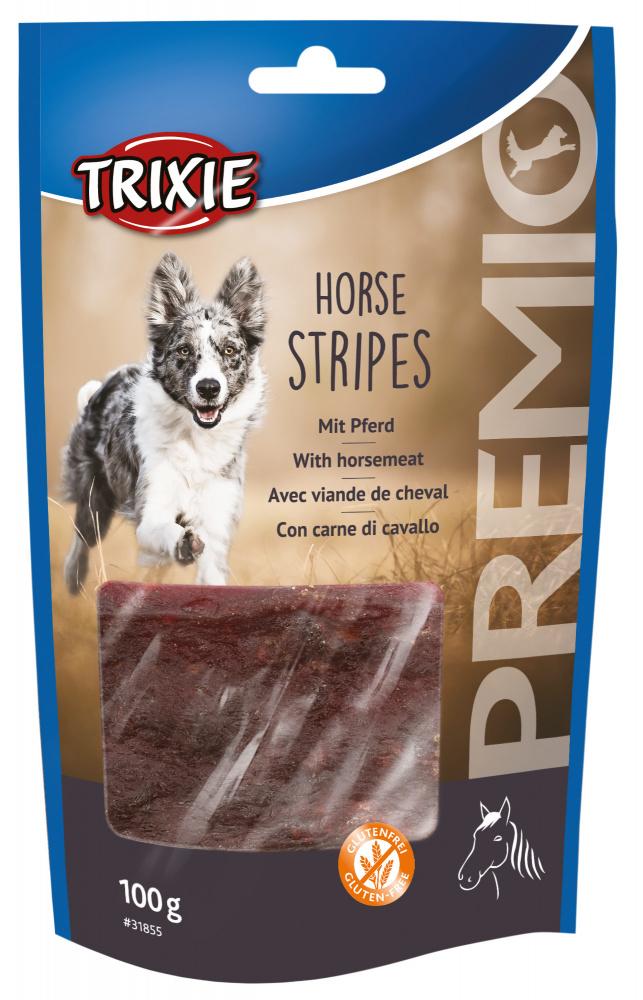 Допълваща храна за кучета - Ленти с вкус на конско месо.