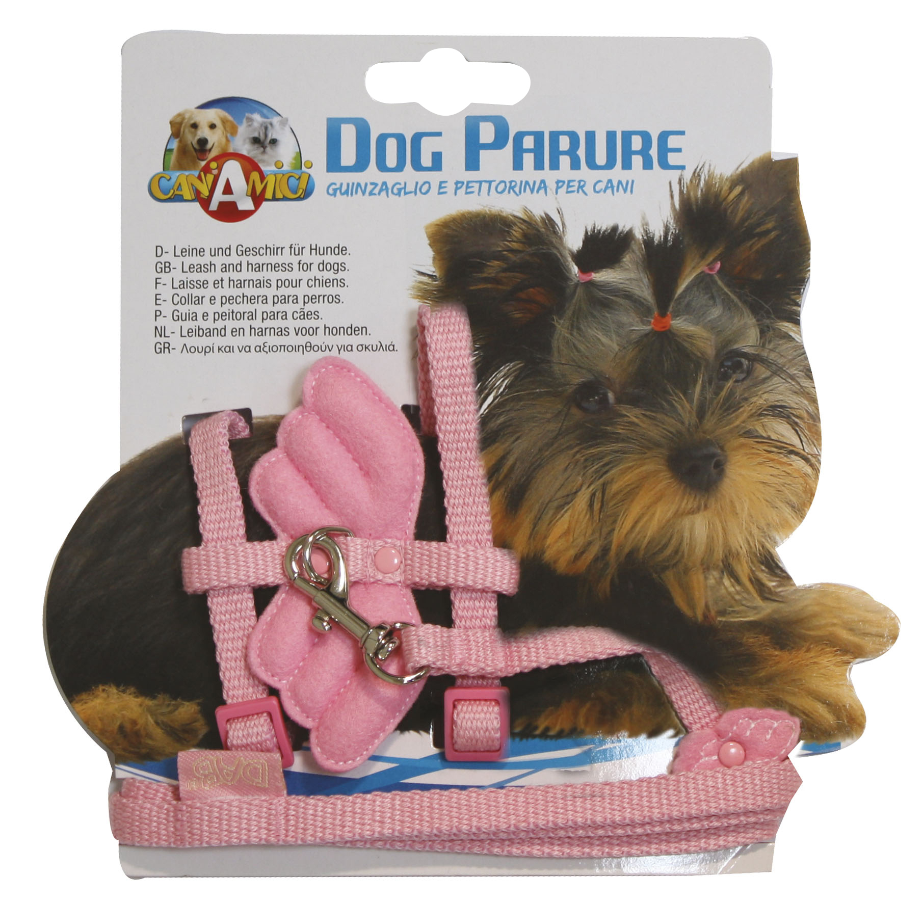Комплект нагръдник и повод за кучета