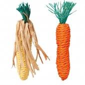 Морков въжен 15cm. 2бр. - 6192