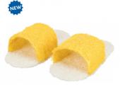 Комплект играчка чехли от луфа, които могат да се напълнят с лакомства 8см. - 61944