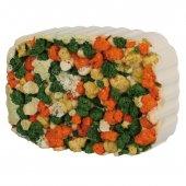 Минерален камък със зеленчуци и алги - 6016